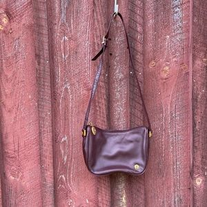 Etienne Aigner bag in deep wine color